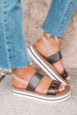 Icon Lizzo Wedge -Leopard