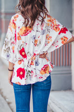 In The Meadows Blouse - White