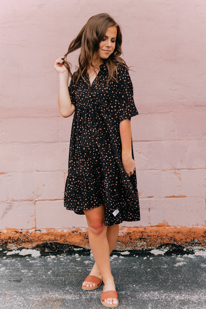 Let's Get Lost Leopard Dress