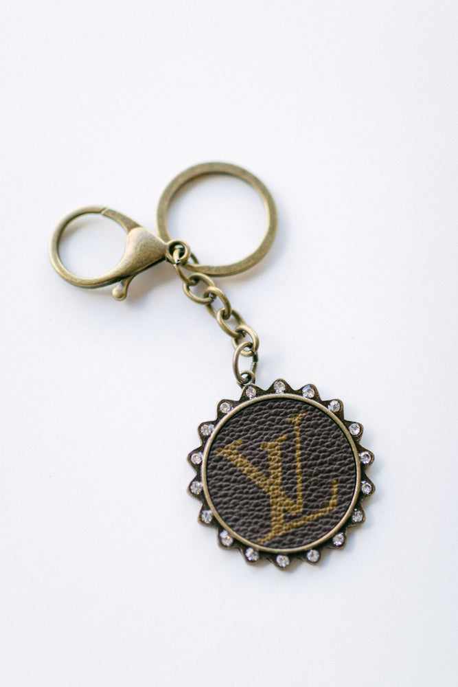 Upcycled Luxury Keychain