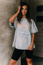 Free Spirit Rock And Roll Graphic Tee