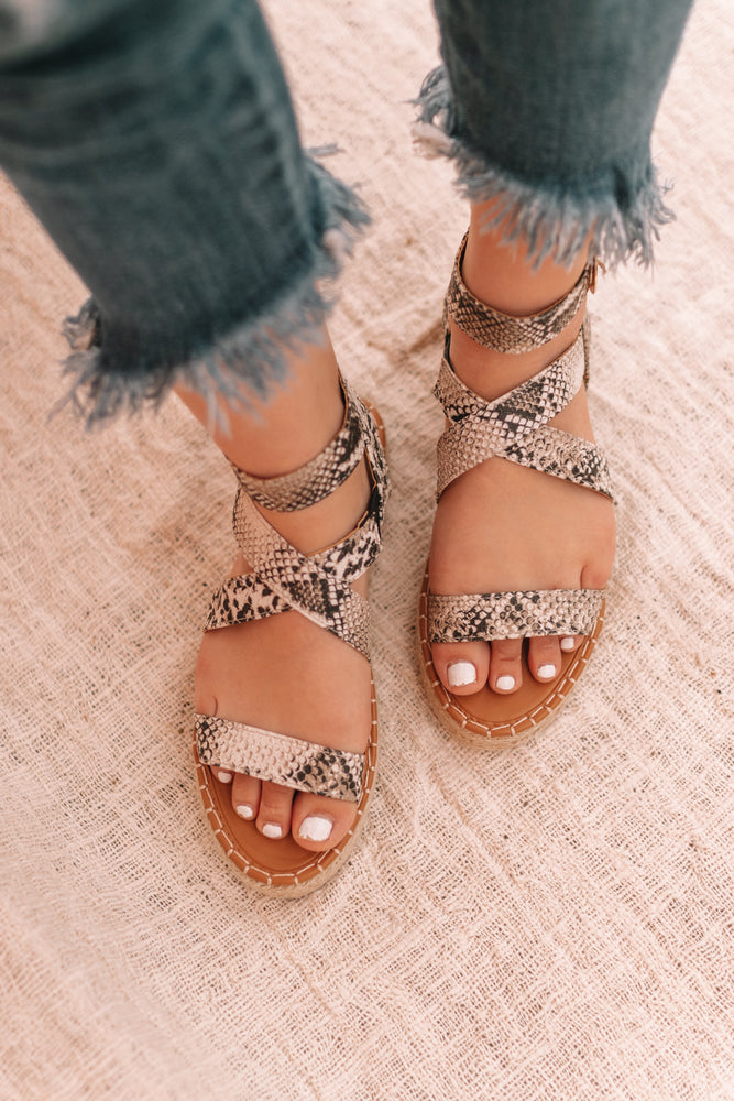 Meadow Snake Sandal