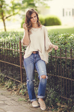 Talk To Me Linen Blouse