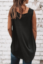 Simple Life Blouse - Black