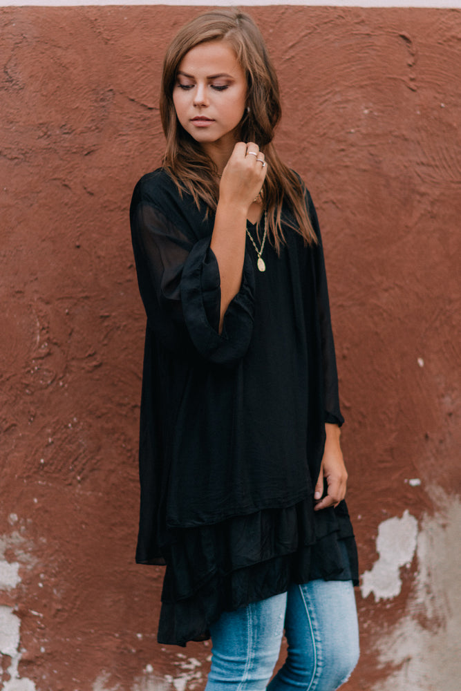 Willow Blouse - Black