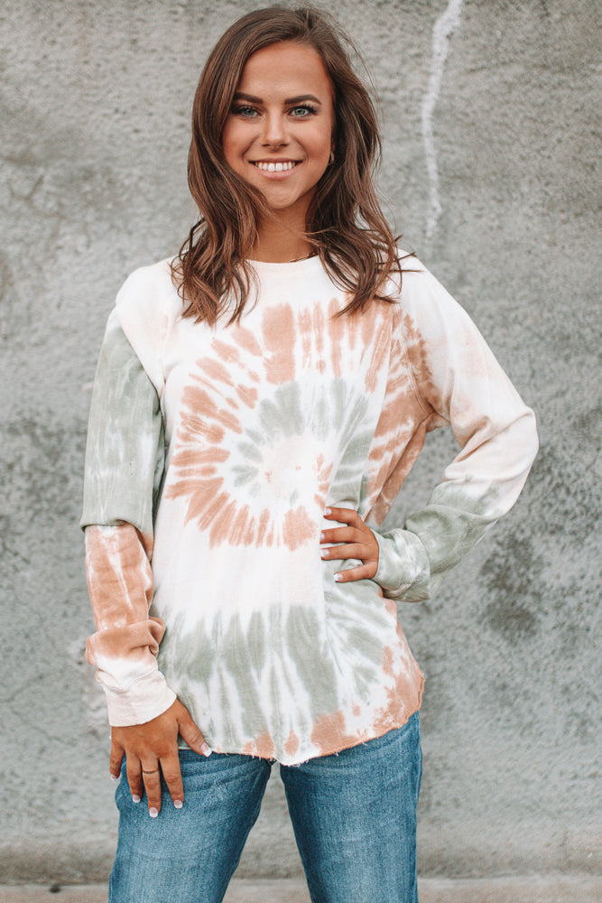 By The Seaside Tie Dye Top