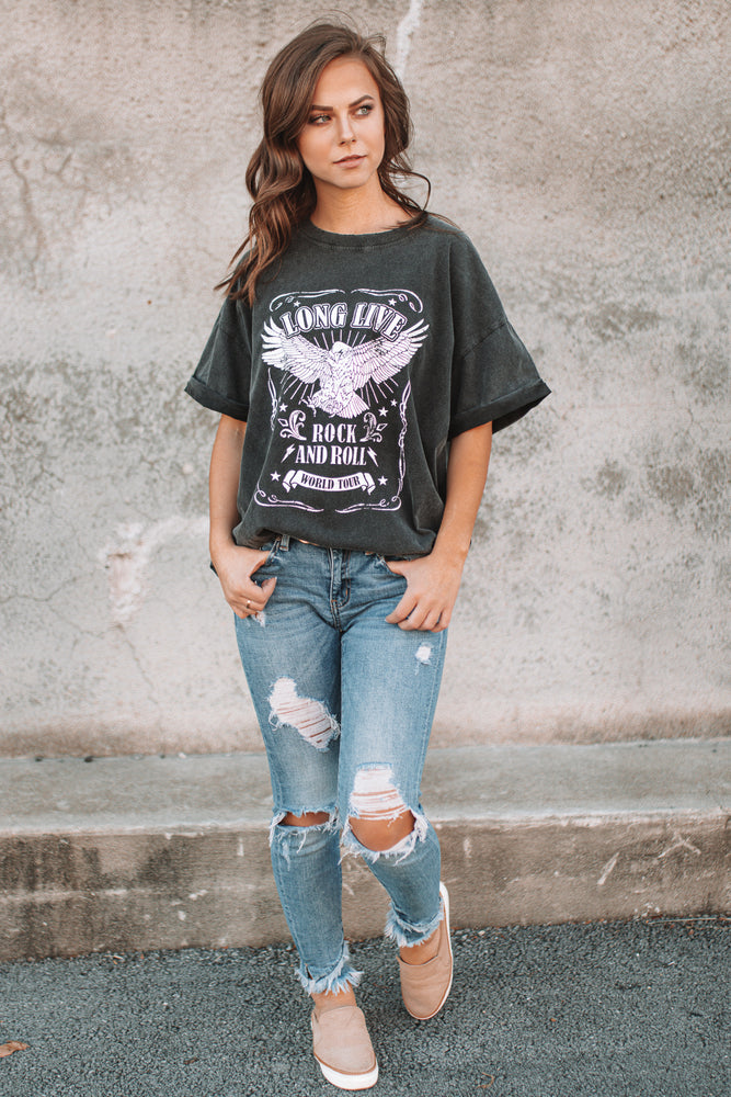 Rock and Roll World Tour Graphic Tee