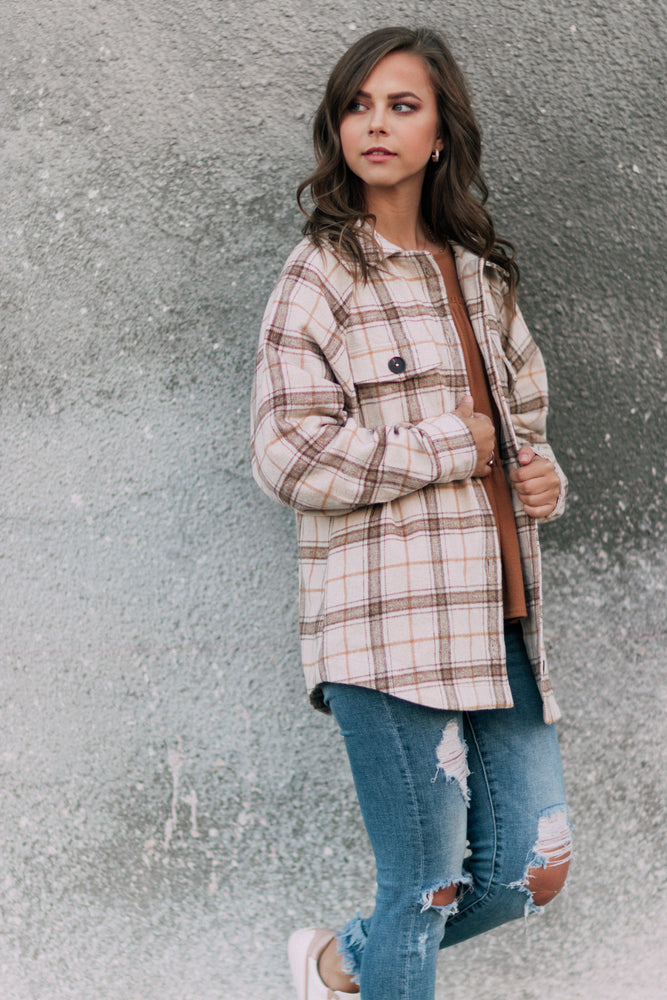 Crisp Morning Air Trucker Jacket