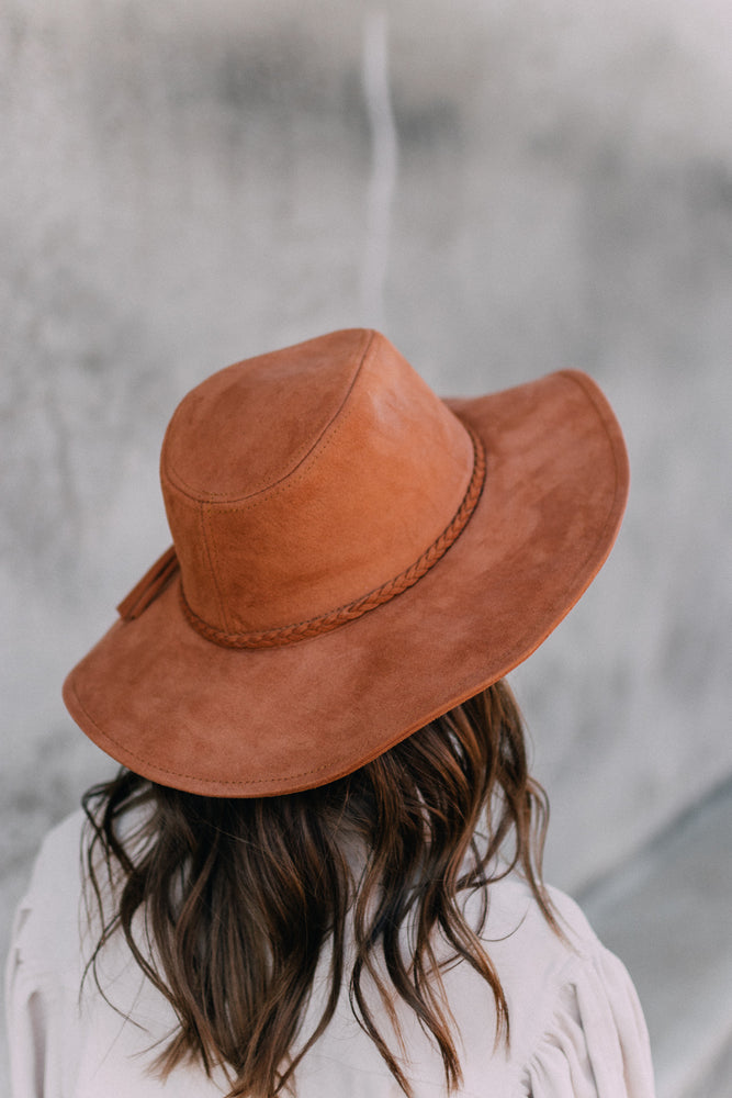 Going To Town Hat - Brown