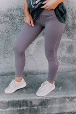 Can't Stop Won't Stop Leggings -Mauve