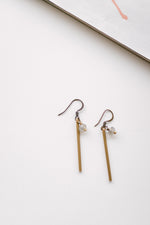 Straight Line Earrings