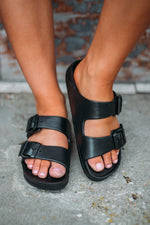 Jasmin Slide Sandal -Black