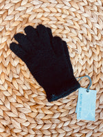 Barefoot Dreams: CozyChic Gloves - Black