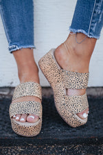 Shamrock Brown Speckled Platform
