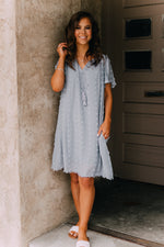 Everly Dress - Light Blue