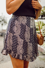 Heavens Gate Navy Skirt