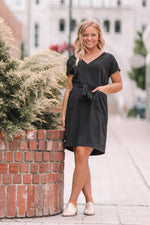 Simone Tunic Dress - Black