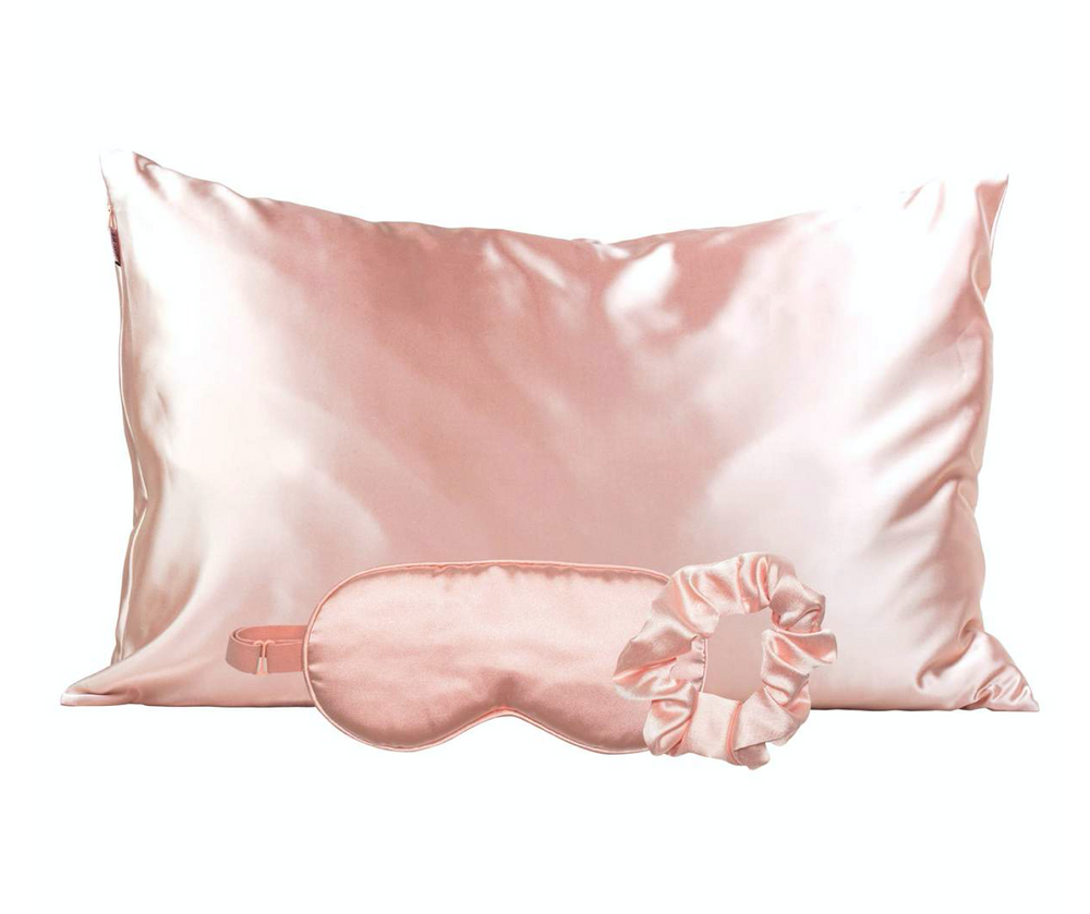 Kitsch Satin Sleep Set - Blush