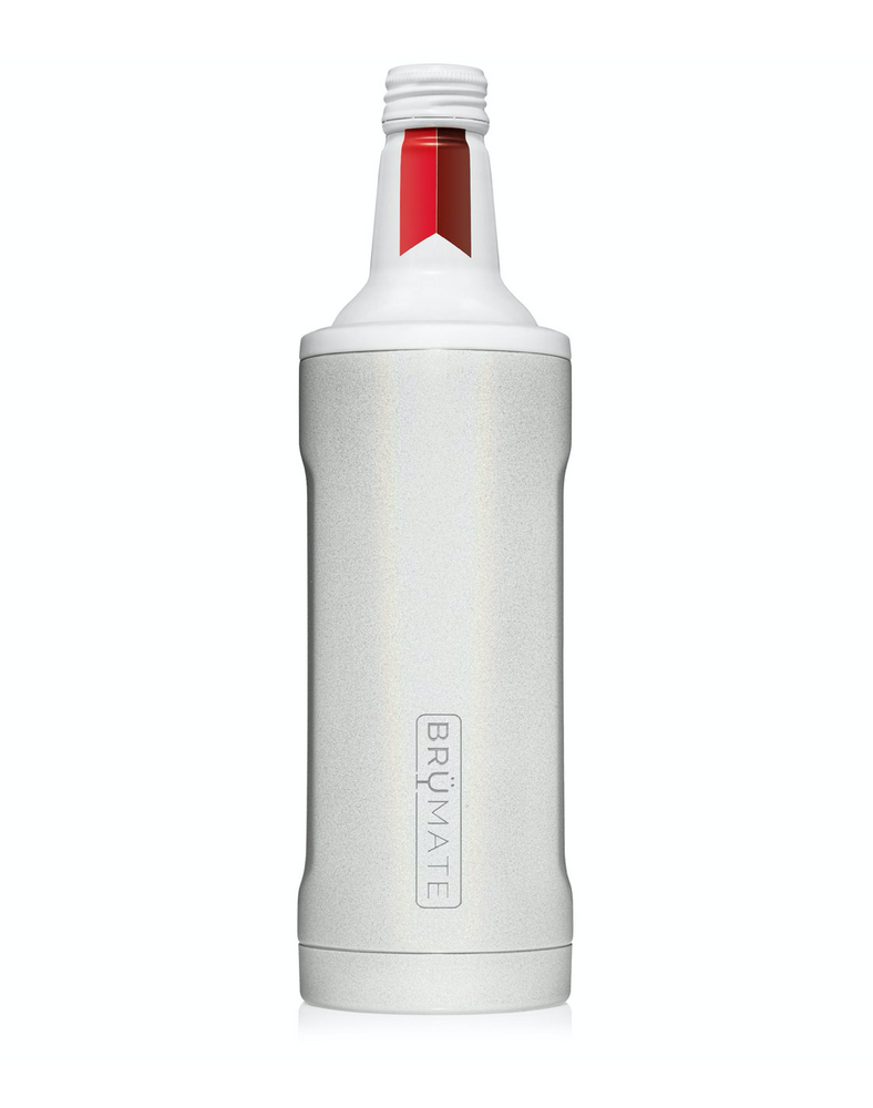 BruMate: HOPSULATOR TWIST 16oz | GLITTER WHITE