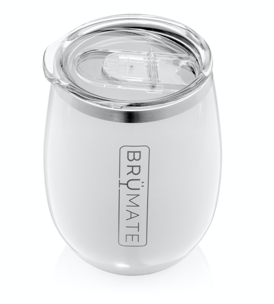 BruMate: UNCORK'D XL 14OZ WINE TUMBLER | ICE WHITE