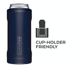 BruMate: HOPSULATOR SLIM | MATTE BLACK (12OZ SLIM CANS)