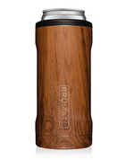 BruMate: HOPSULATOR SLIM | WALNUT (12OZ SLIM CANS)