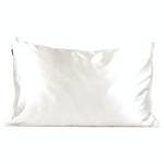 Kitsch Satin Pillow Case - Ivory