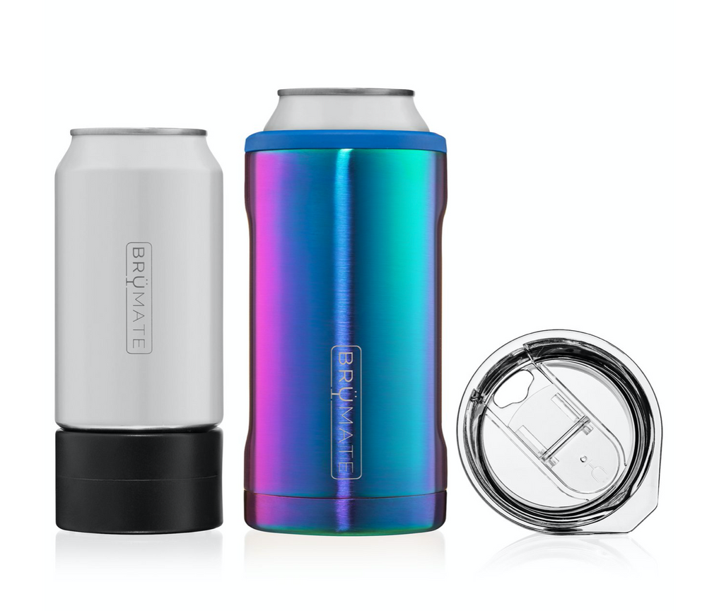 BruMate: HOPSULATOR TRÍO 3-IN-1 | RAINBOW TITANIUM (16OZ/12OZ CANS) (LIMITED EDITION)
