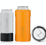 BruMate: HOPSULATOR TRÍO 3-IN-1 | HUNTER ORANGE (16OZ/12OZ CANS)