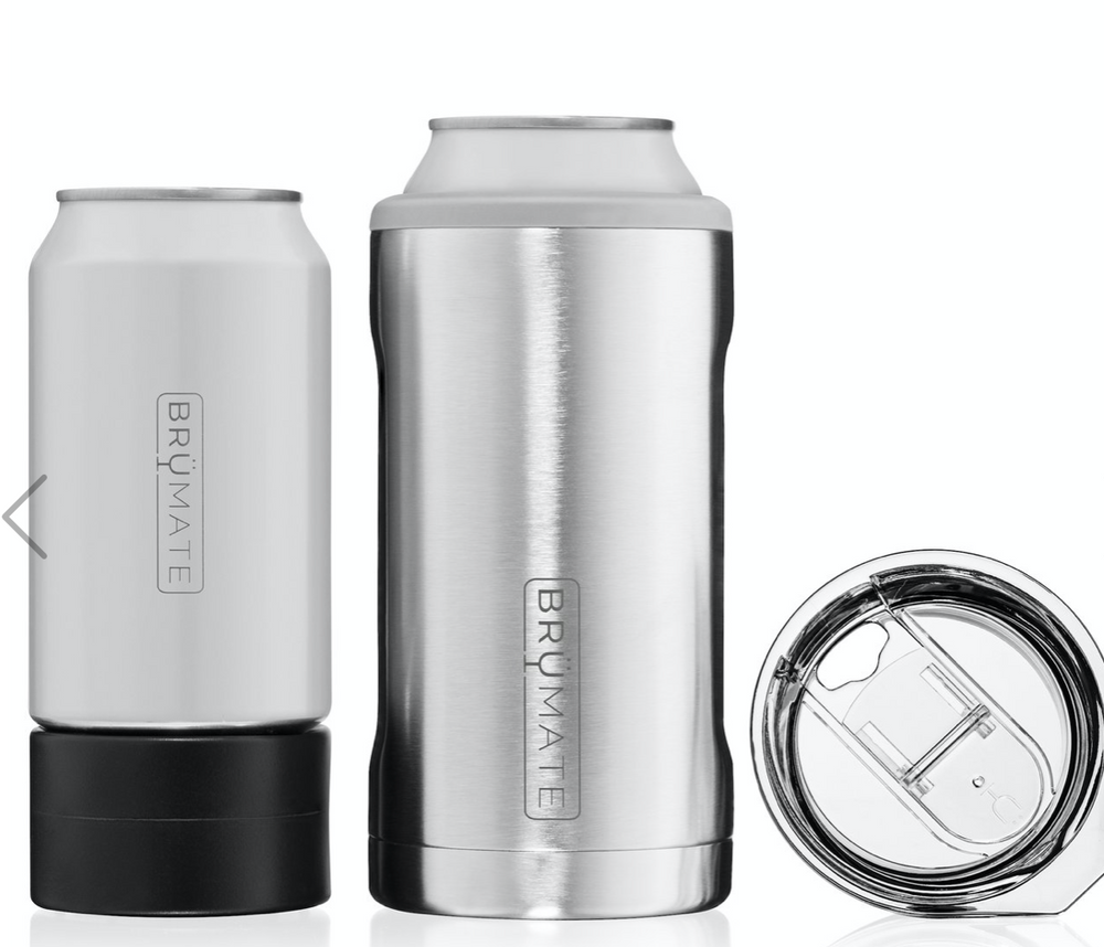 BruMate: HOPSULATOR TRÍO 3-IN-1 | STAINLESS STEEL (16OZ/12OZ CANS)