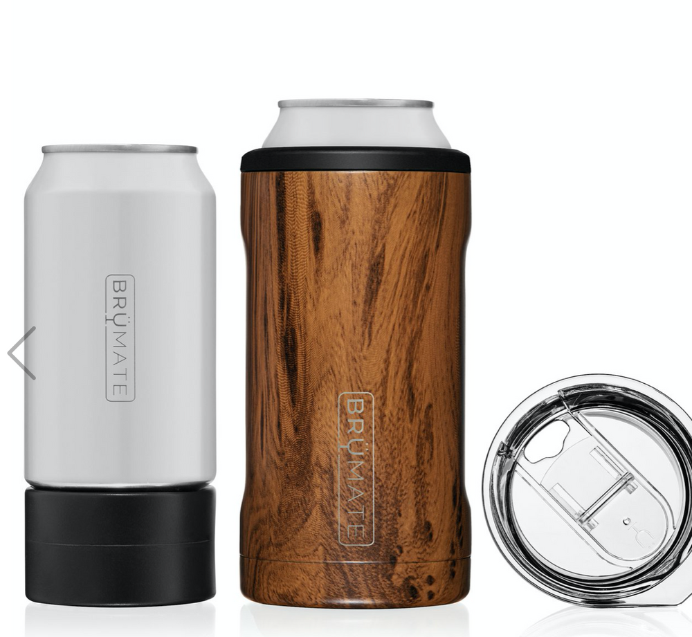 BruMate: HOPSULATOR TRÍO 3-IN-1 | WALNUT (16OZ/12OZ CANS)