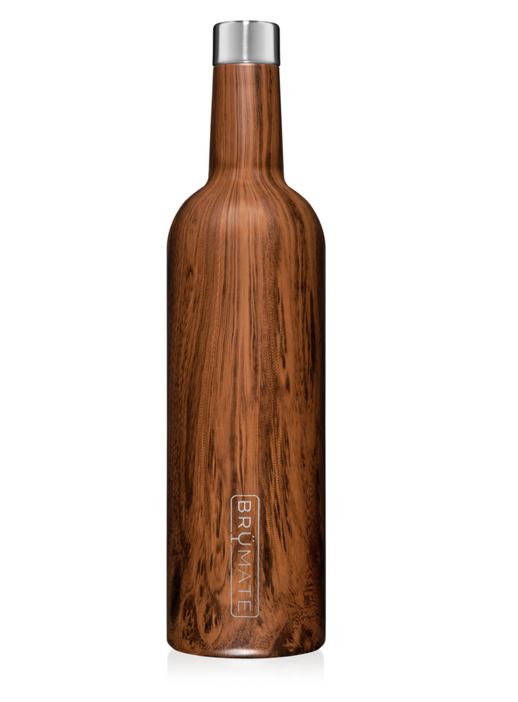 BruMate: WINESULATOR™ 25OZ WINE CANTEEN | WALNUT V2.0
