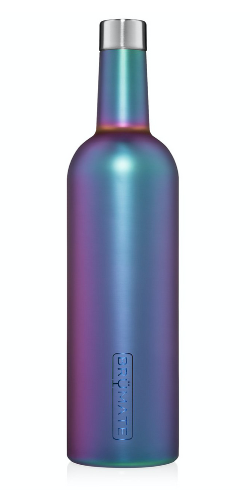 BruMate: WINESULATOR™ 25OZ WINE CANTEEN | DARK AURA V2.0
