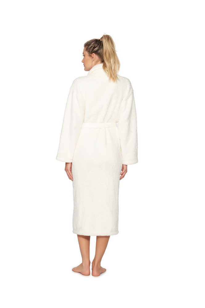 Barefoot Dreams: CozyChic Adult Robe - Pearl