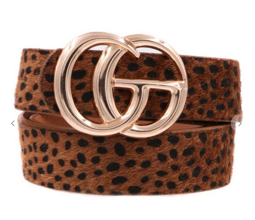 Lavish Belt - Cognac