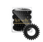 Kitsch 4 Pack Hair Coils - Black