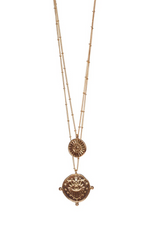 CLAUDIA LAYERED NECKLACE - GOLD