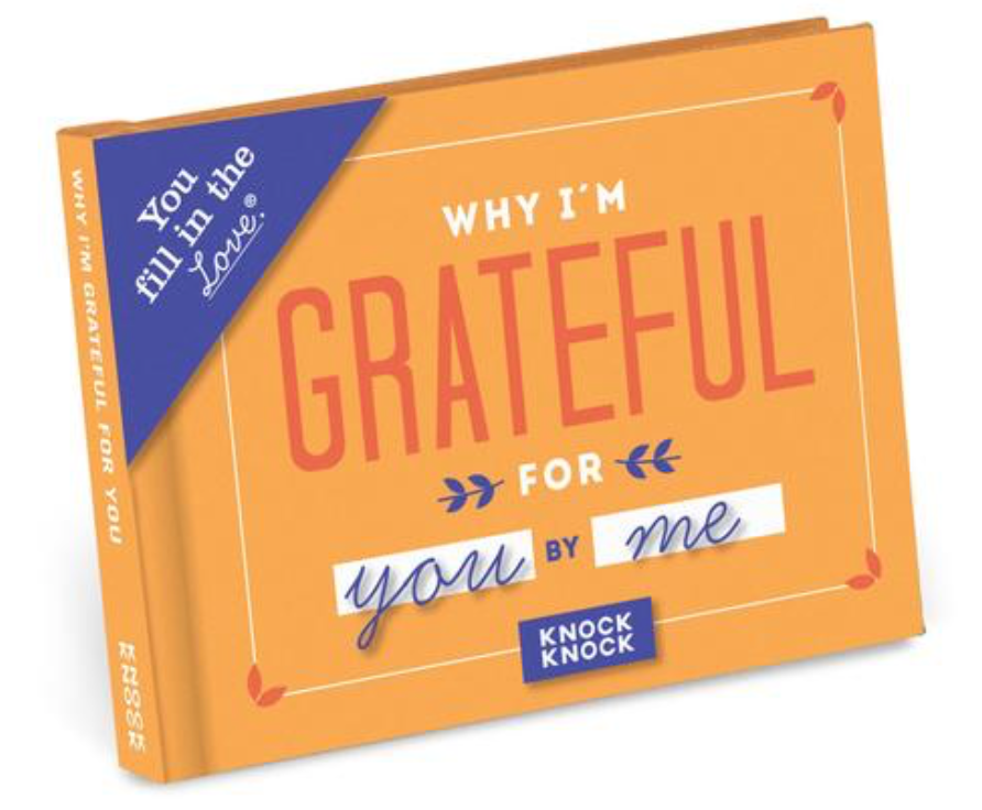 Why I'm Grateful for You Fill in the Love® Book