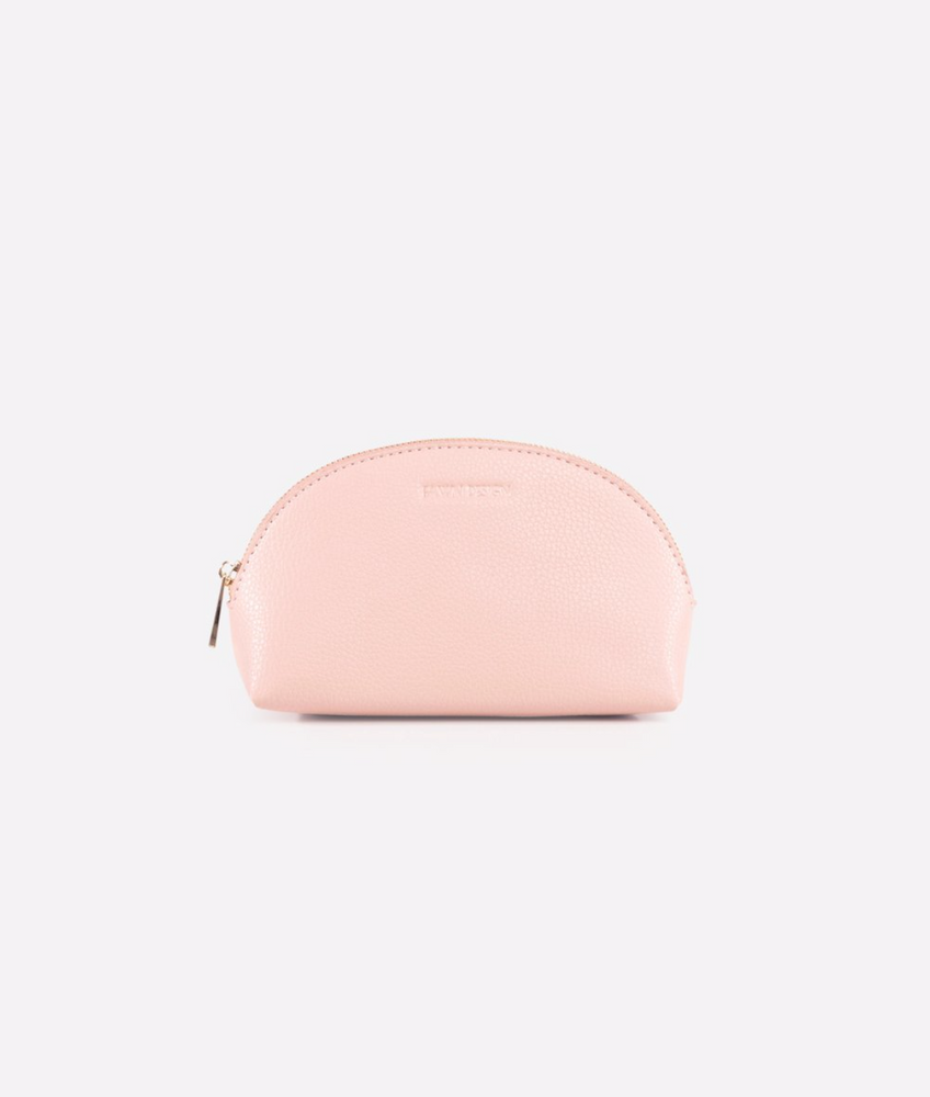 FAWN DESIGN THE COSMETIC BAG - BLUSH (SMALL)