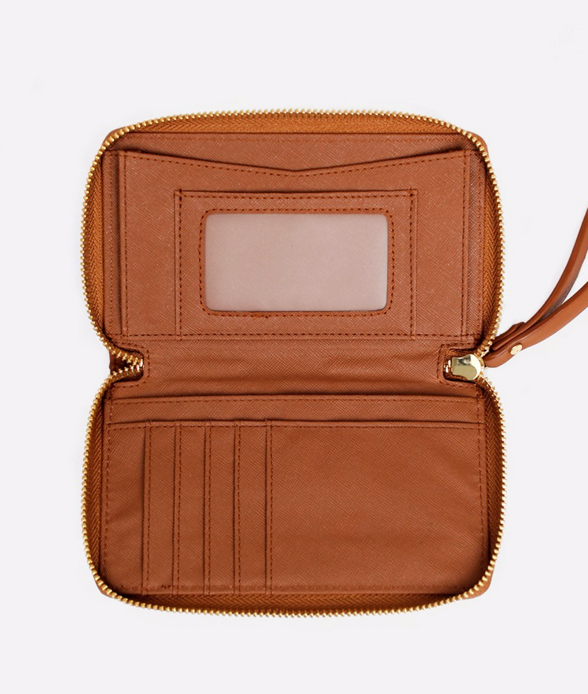 FAWN DESIGN THE WALLET - BROWN