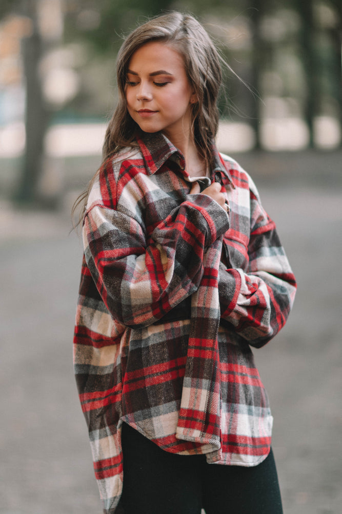 FIRESIDE LOVIN FLANNEL JACKET