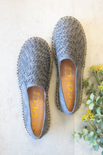Shelby Woven Flat