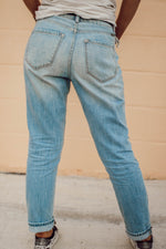 High Rise Mom Kancan Jeans