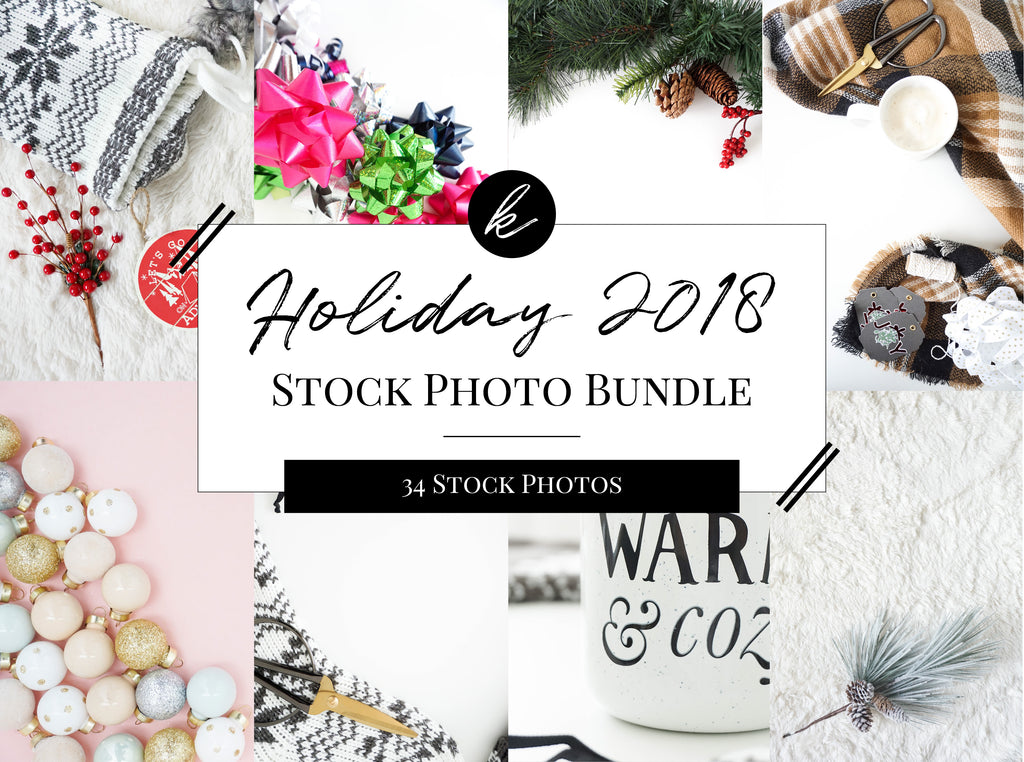 Holiday 2018 Stock Photo Bundle for Creatives