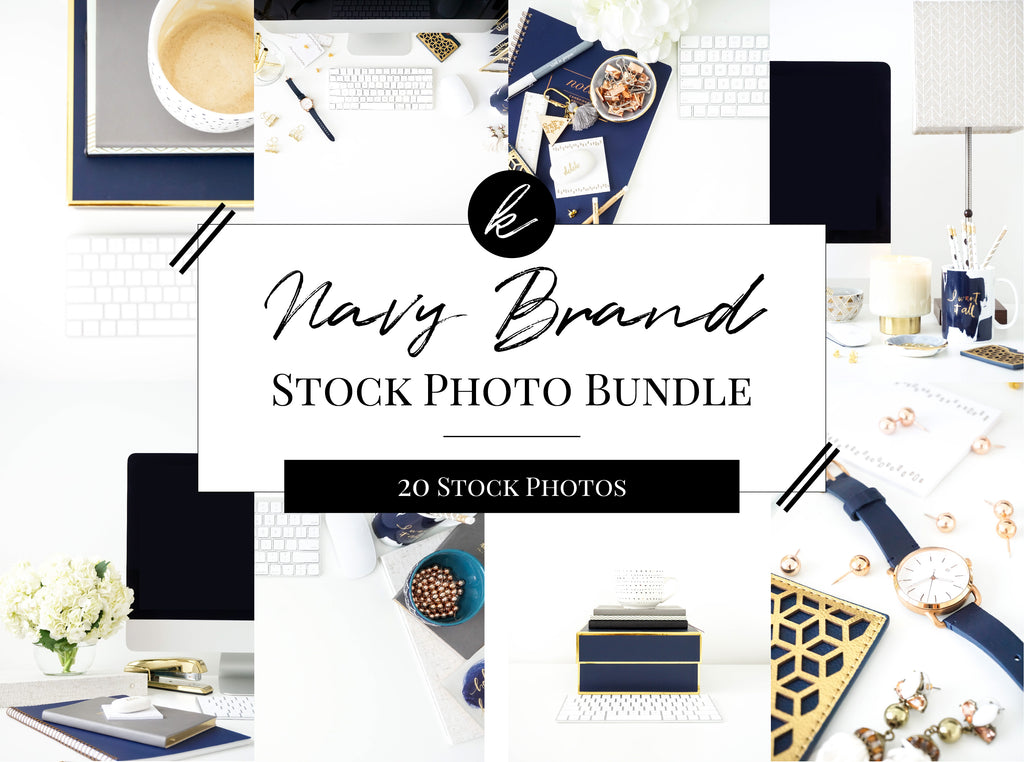 Navy Office Stock Photo Bundle