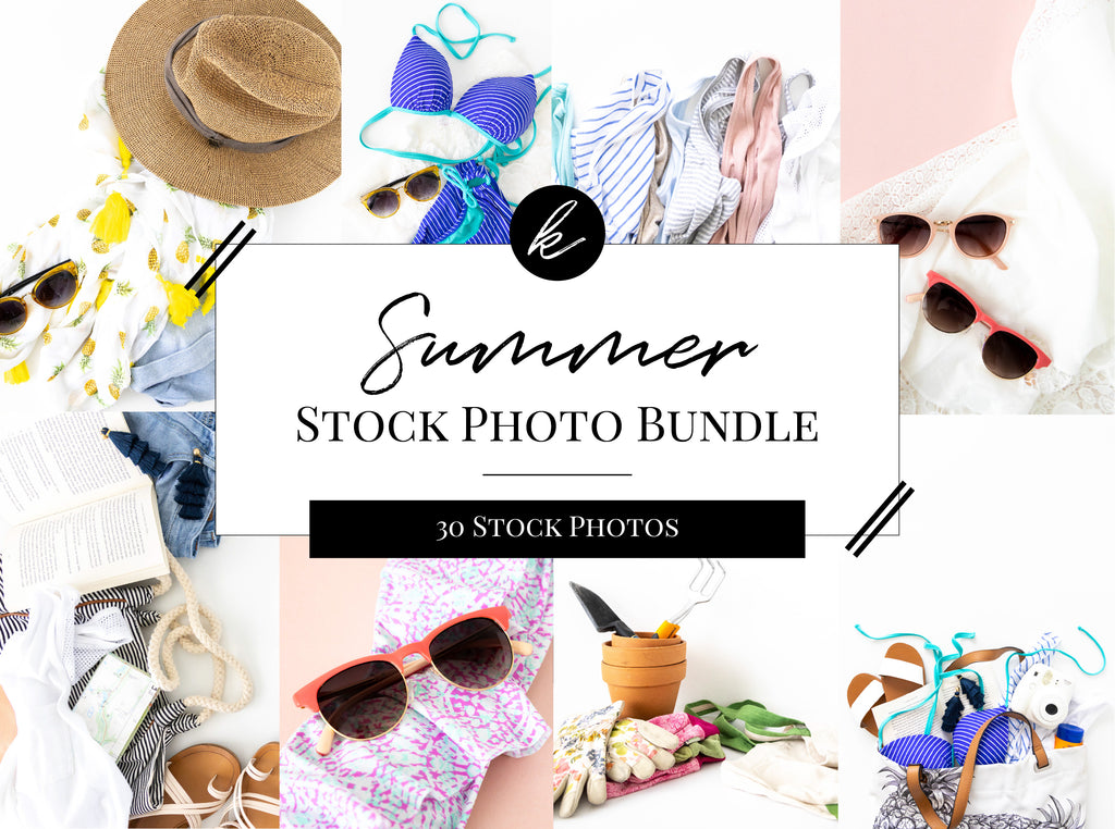Summer Stock Photo Bundle Main Cover Image