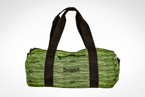 Knitted Lime & Black Barrel Bag - Swaver Accessories