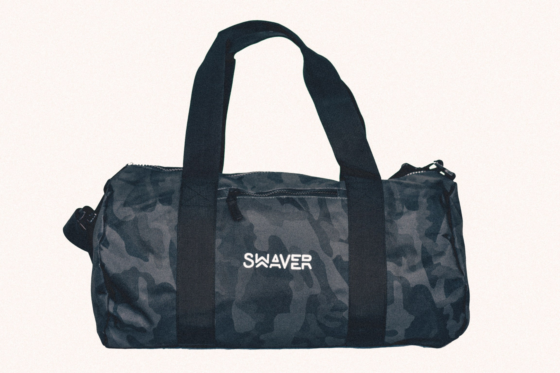 Swaver Midnight Blue Camouflage Barrel Bag - Swaver Accessories