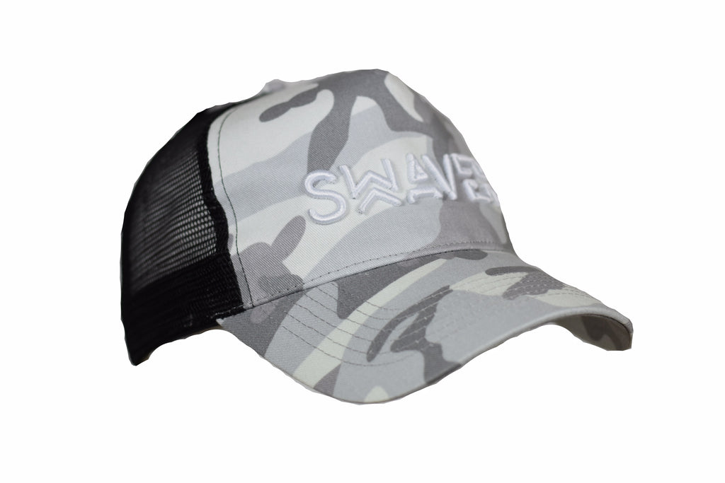 Swaver Grey Camouflage Trucker - Swaver Accessories