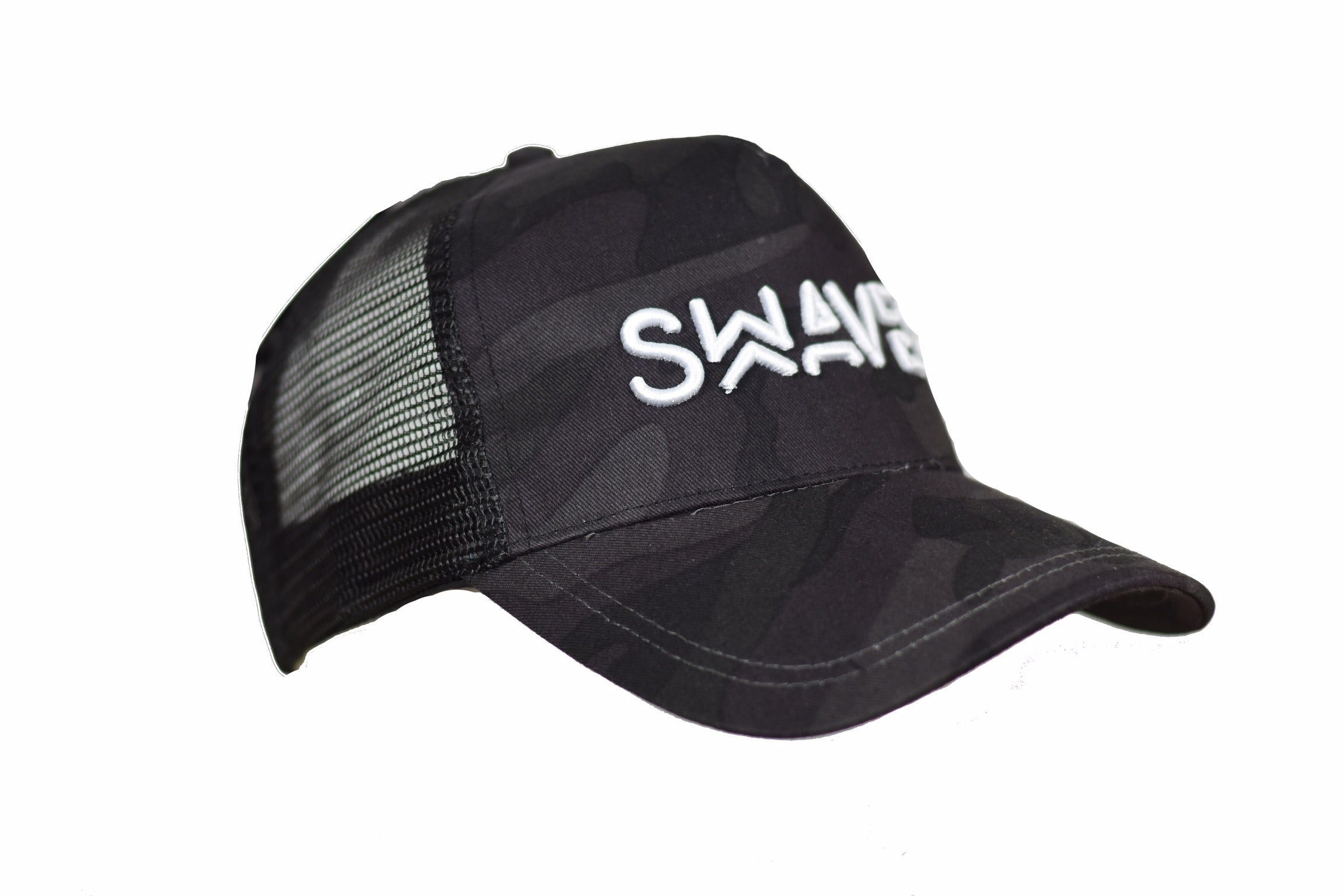 Swaver Midnight Blue Camouflage Trucker - Swaver Accessories